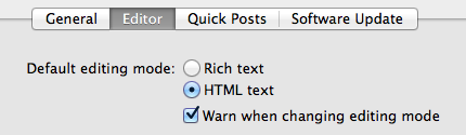 Choose 'HTML text'